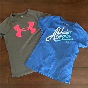 Set of two Under Armour t-shirts